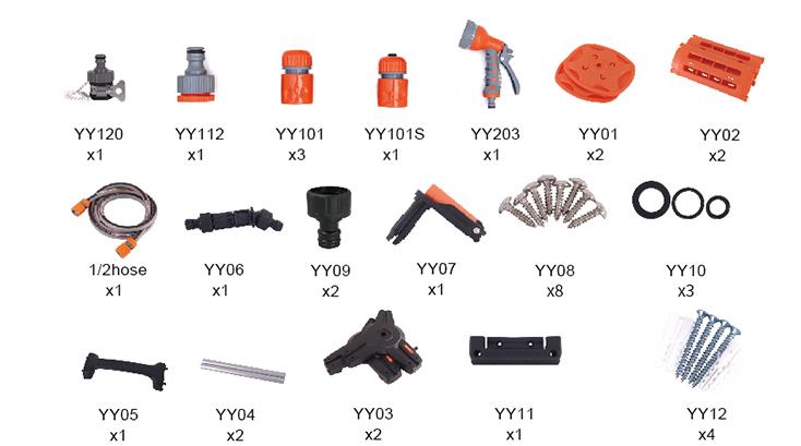 hose reel accessories