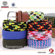 2015 new special design customized women western braided belt
