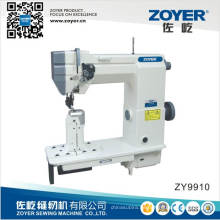 Zy9910 sola aguja Post cama doble pespunte coser maquinaria