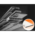 Micro-Multiport Aluminium Tube pour échangeurs de chaleur