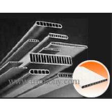 Tubo de alumínio Micro-Multiport para trocadores de calor