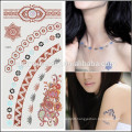 OEM Wholesale beauty fashion tattoos temporary high quality tattoo design for sexy lady V4633