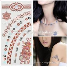 OEM atacado beleza tatuagens de moda temporária de design de tatuagem de alta qualidade para a senhora sexy V4633
