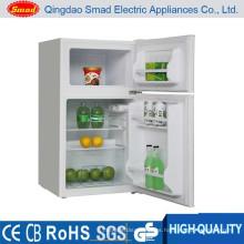 Puerta doble Refrigerador pequeño con congelador