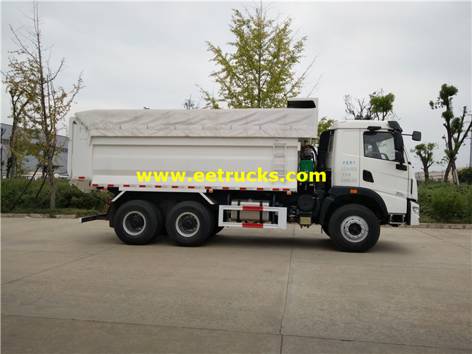 15ton Self Unloading Garbage Trucks