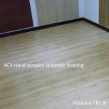 Hand Scraped hdf 12mm laminate floor