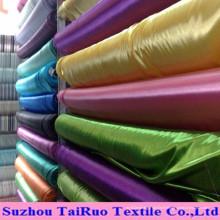 Polyester Stretch Satin pour la doublure des vêtements