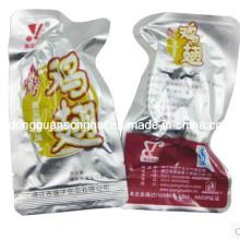 Sac à vide en plastique / sac d'emballage de viande / sac alimentaire