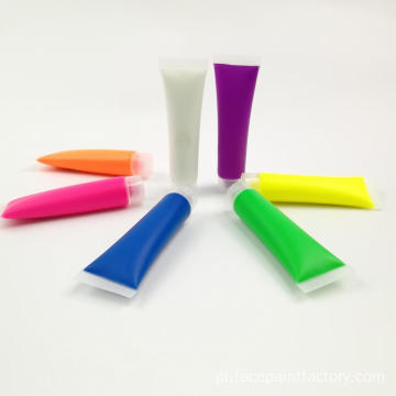 Non-toxin Colorful Uv / neon Tube Packs Farba do twarzy
