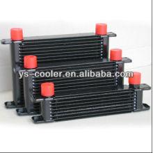 Refrigerador de óleo do motor do carro de alumínio, Kits do refrigerador de óleo
