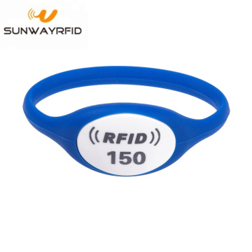 Gelang RFID Silicone NFC Wristband untuk theme Park