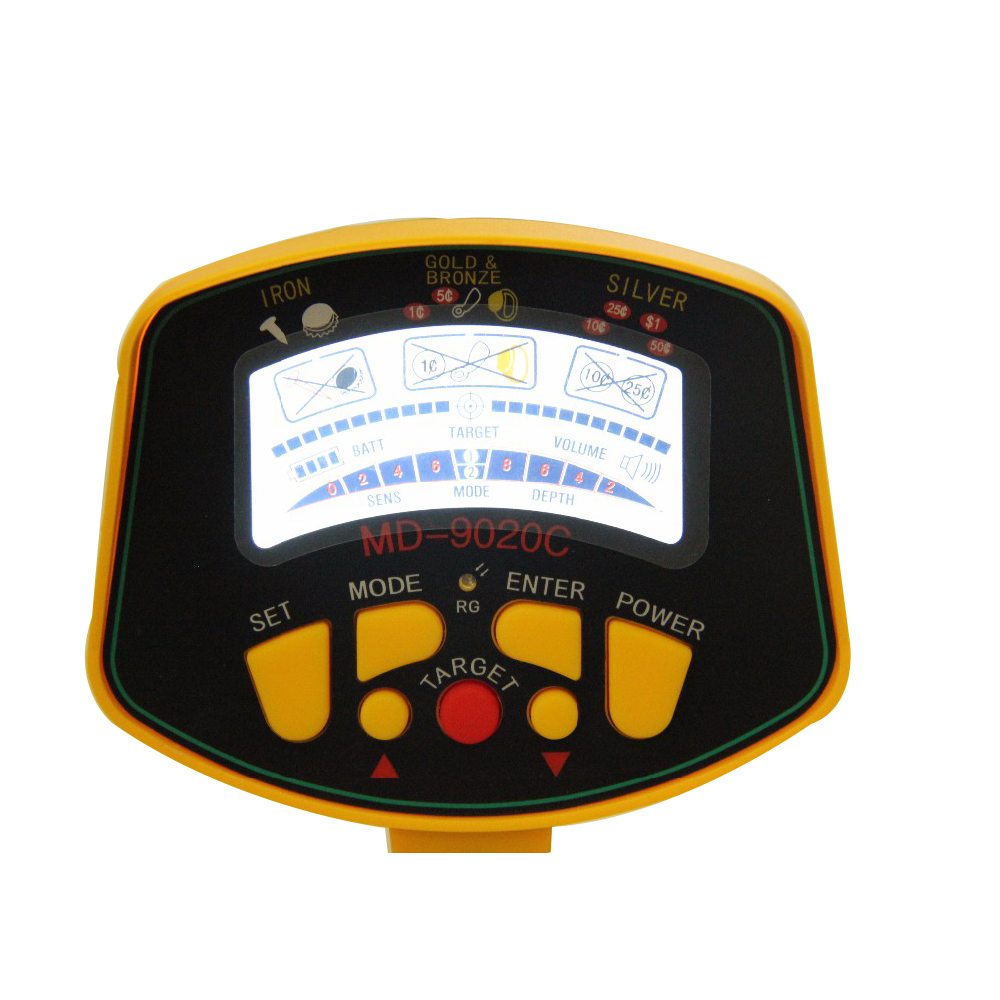 MD-9020C underground gold finder machine gold detector