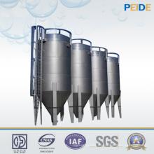 Filtro de arena continuo del equipo del tratamiento de aguas de la protección del medio ambiente