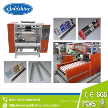 Rollo de papel de aluminio eléctrico de alta precisión que hace la máquina