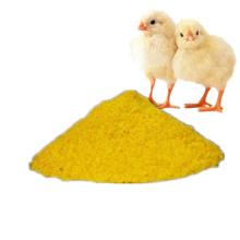 Polvo aditivo para piensos de grado de alimentación amarillo pigmentado
