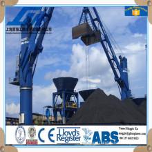 Hydraulic Remote Control Grab Ship Deck Crane