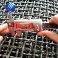 crimped vibrating mesh screen 65MN quarry mesh gravel crusher hooked vibrating sieve screen mesh