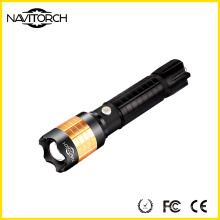 Enfoque giratorio Zoom recargable 260 Lumen linterna (NK-1869)