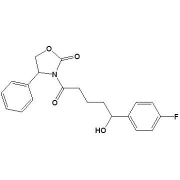 3-[5- (4-Fluorophenyl) -5-Hydroxy-1-Oxopentyl]-4-Phenyl-2-Oxazolidinonecas No. 439080-96-3
