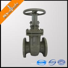 Industrial flanged gate valve 3 inch chain wheel gate valve