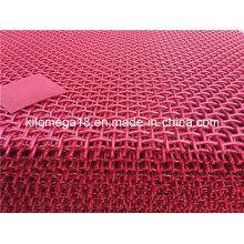 Tela de aço alta pintada vermelha oxidada 65m de Carben