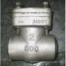 800lbs ANSI Forged Female Threaded Non Return Check Valve