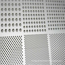 dust proof and sound barrier galvanized perforated metal sheet
