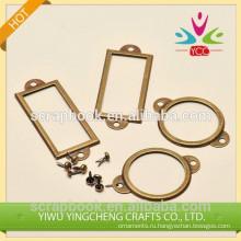 металлический держатель профессиональные бронзовая этикетка