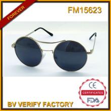 FM15623 Alta calidad Metal Vintage gafas de sol con lentes Polaroid