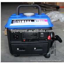Generadores de gasolina de la marca internacional Yunkuan Qiangwei Generador de gasolina de dos tiempos Yamaha ET950 650W0.65KW