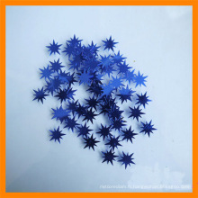 2015 a accueilli le papier de confettis en forme de partie étoilé