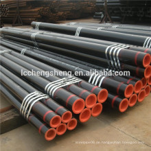 ASTM A53 nahtlose Stahlrohr Oberfläche Malerei schwarz roh Rohr schwarz Gehäuse Rohr