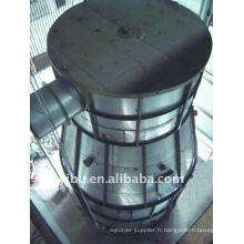 Séchoir à pulvérisateur à grande vitesse centrifuge à gés