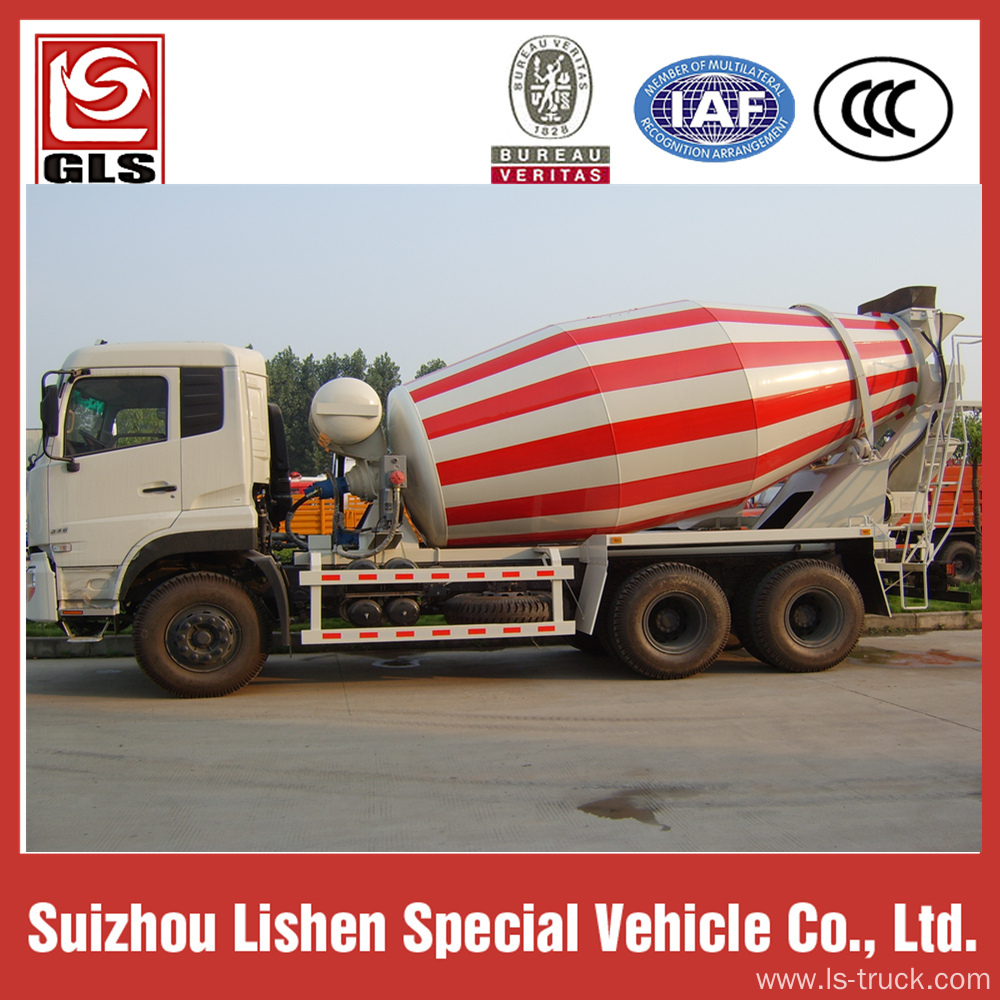 Dongfeng Concrete mix truck 6x4 drive cummins 340hp