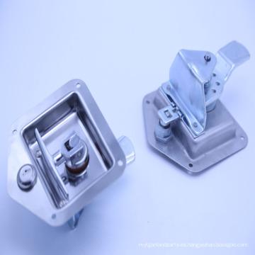 120.9 * 124MM Flush Slam Cerraduras de puerta con pestillo / contenedor --012001
