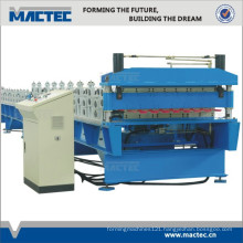 High Productivity Double Roll Forming Machine For Roofing Sheets