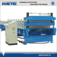 Rolo dobro da produtividade alta que forma a máquina para telhar folhas