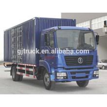 4X2 unidade de 15 T Shacman camião van / Shacman van caminhão da caixa / Shacman caminhão de transporte van / Shannqi van caixa de caminhão de transporte / caminhão de carga