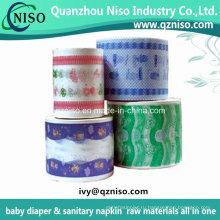 Китай Слоение пленки PE задний лист для пеленки младенца для продажи