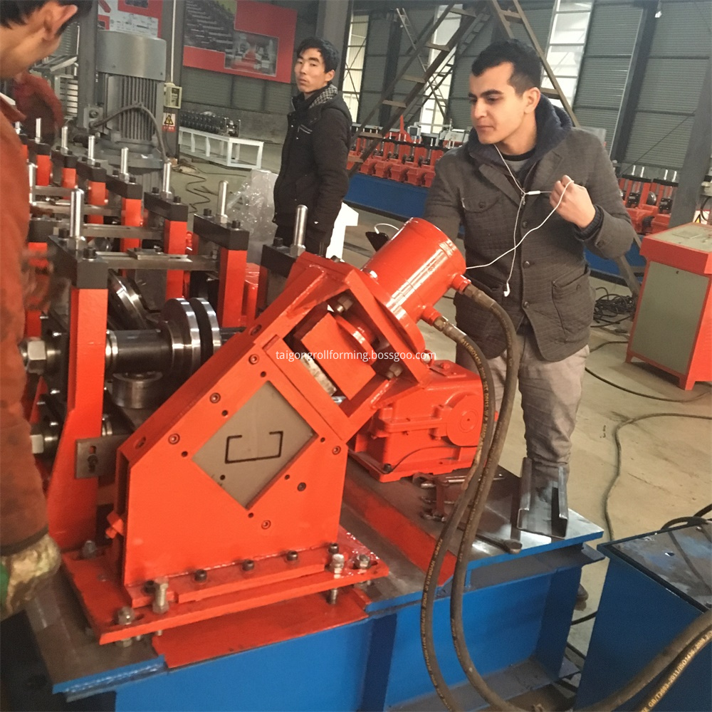 Omega Channel Roll Forming Machin