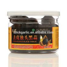 peeled single clove black garlic made from fresh white garlic200g/bottle