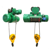 Rail Mount Electric wirerope Hoist with 2000 lb