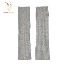 Winter Knitted Women Fingerless Arm Warmer Gloves Cashmere Gloves