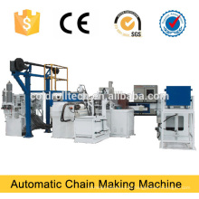 Steel Wire Chain Making Machine , Iron link chian making machine