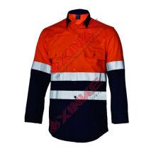 vente chaude ignifuge et anti-statique veste de travail pour l'ouvrier dans le champ de lutte contre les incendies