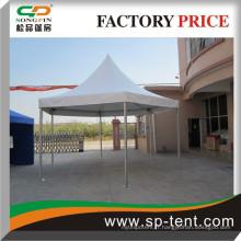 Diamètre 3m poteaux pop-up chêne hexagonal pagode tente en gros