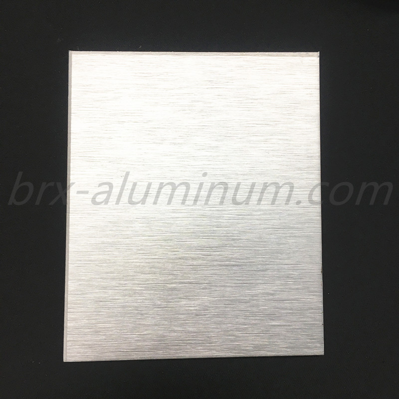 Anodized Brushed Decorative Aluminum Sheet