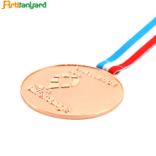 Honor Symbol Custom Award Medals dengan Copper plating