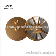 80mm/100mm metal grinding pad for concrete