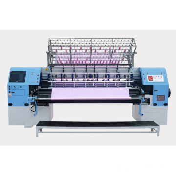 High Speed Computerized Shuttle Multi-Needle Quilting Machine for Blankets, Quilts, Garments